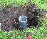 Primrose Bodenverankerung für Sonnensegelmasten, 60cm