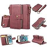 Alfort iPhone SE / 5S Funda Carcasa iPhone SE / 5S Case La Tapa de la Cubierta del Cuero Vintage...