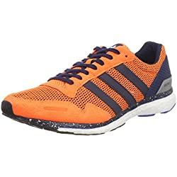 Adidas Adizero Adios m, Zapatillas de Trail Running para Hombre, Naranja (Naalre/Maruni/Azalre 000), 44 EU