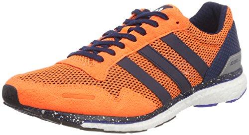 adidas Adizero Adios m, Trailrunningschuhe für Herren, Orange (Naalre / Maruni / Azalre 000), 42 2 / 3 EU