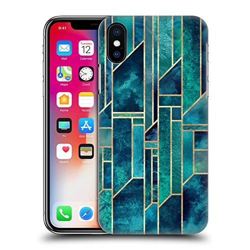 Offizielle Elisabeth Fredriksson Blaues Glas Geometrisches Designs Und Muster Ruckseite Hülle für Apple iPhone 6 / 6s Blaue Himmel