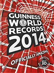 GUINNESS WORLD RECORDS (2014) BY GUINNESS WORLD RECORDS (AUTHOR) HARDCOVER (2013 )