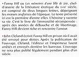 Image de Fanny Hill : les mémoires d'une fille de joie - première lettre