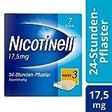 Nicotinell 17,5 mg / 24-Stunden- Nikotinpflaster, 7 St.: Pflasterstärke Leicht (3) ¬– Das Nicotinell Nikotinpflaster mit der Steady-Flow Technologie hilft, das Rauchverlangen für 24 Stunden zu lindern