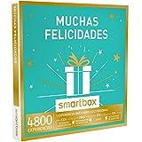 SMARTBOX - Caja Regalo - MUCHAS FELICIDADES - 4800 experiencias como escapadas, spas, cenas chic o actividades de aventura