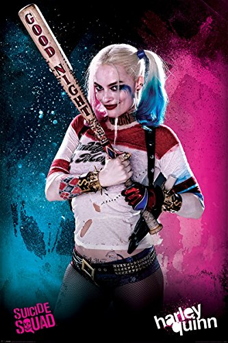 uad Maxi Poster Harley Quinn 61x91,5 cm (Harley Quinn Zimmer Dekor)
