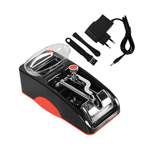 Máquina Electrónica y Automática de Tabaco para Liar Cigarrillos con Función de Regular Espesor de Cigarro(rojo)
