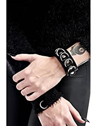 Killstar vegan leather bracelet, Blaire Bitch