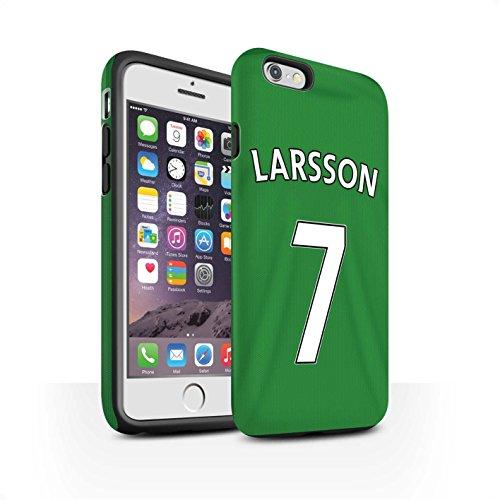 Offiziell Sunderland AFC Hülle / Matte Harten Stoßfest Case für Apple iPhone 6S / Pack 24pcs Muster / SAFC Trikot Away 15/16 Kollektion Larsson