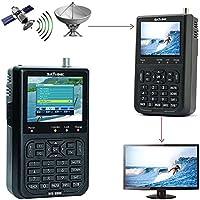 'Kobwa Satlink WS–69063.5LCD profesional Satfinder Digital Satélite Señal Visor metros, HD Digital TV satélite Finder, Negro