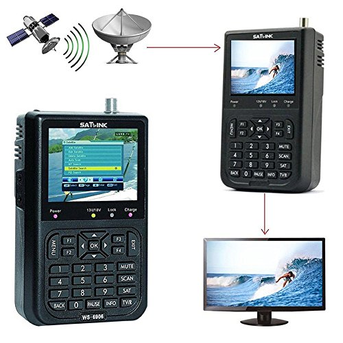 KOBWA WS-6906 3.5' LCD Signal Satellite Digital...