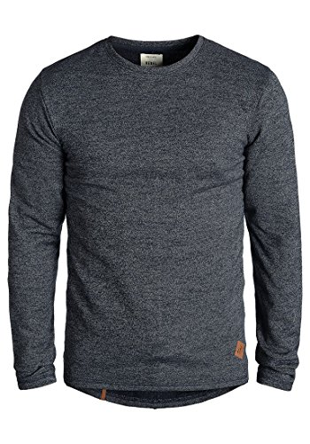 redefined-rebel-matthew-o-neck-pullover-grosselfarbenavy-mel