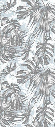 Träume Blatt (VLIESFOTOTAPETE PANEL Tür Türfototapeten Tapete Vlies | Welt-der-Träume| Blatt | VET (211 cm. x 91cm.) | Door Mural Photo Sticker 11238VET-AW | Abstraktion Kunst Design Modern Mosaik Blatt)