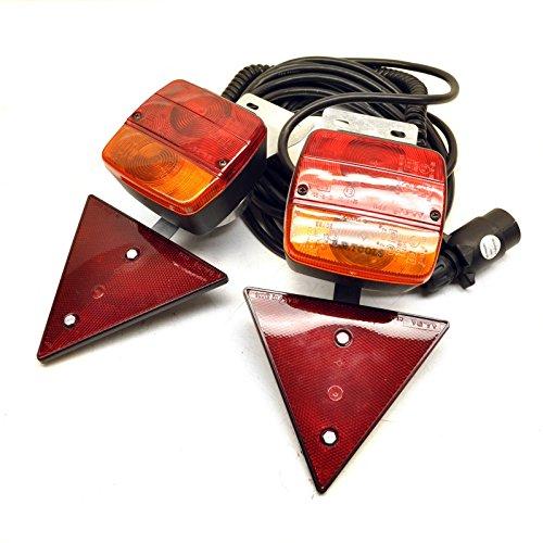 Rimorchio magnetico / Auto luci di recupero insieme 10m di cavo