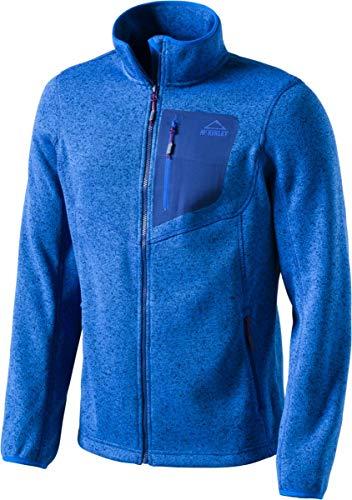 McKINLEY Herren Skeena II Fleecejacke, Blue Royal, L Bekleidung Fleece Jacken