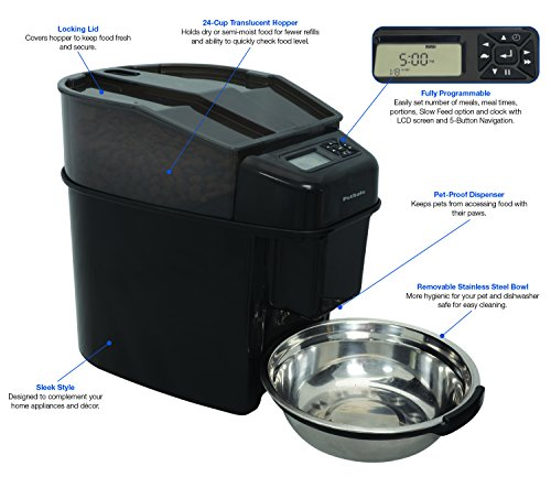 PetSafe PFD19-15521 Healthy Pet Simply Feed Programmierbarer, digitaler Futterautomat - 2