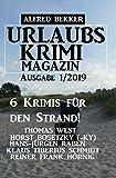 Urlaubs-Krimi Magazin Ausgabe 1/2019 - 6 Krimis für den Strand