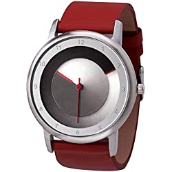 Rainbow e-motion of color Unisex Quartz Watch Avant-garde Analogue Quartz Leather AV45SsM-RL-bla