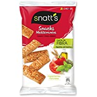 Snatt'S Snacks Mediterráneos con Tomate y Finas Hierbas - 110 g