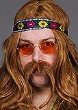 70er Jahre flower Power Hippie Stirnband
