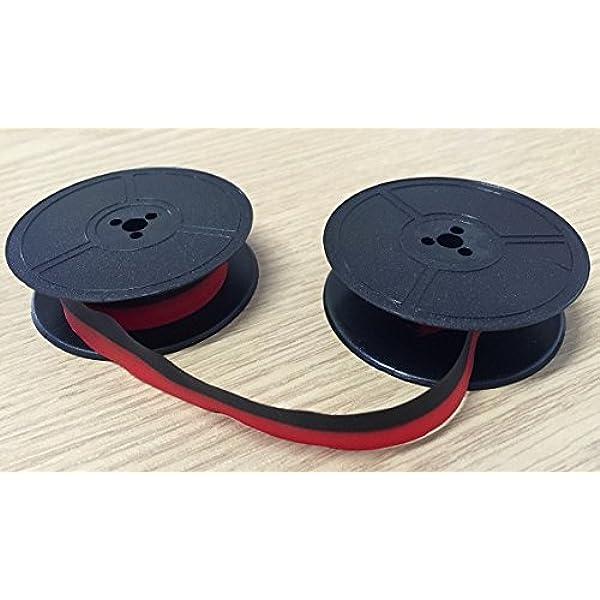 Red//Black or Plain Black Adler Tippa /& Tippa S Typewriter Ribbon