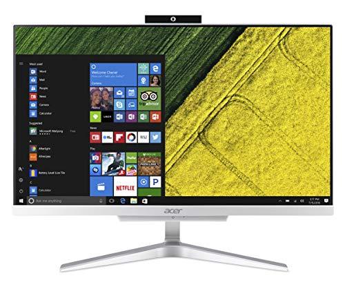 Acer Aspire C22-865 All in one con Processore Intel Core i3-8130U, SSD 256 GB, Ram 4GB, Display 21.5' FHD IPS, Windows 10 Home, Silver