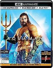 Aquaman (4K UHD + Blu-ray 3D + Blu-ray) (3-Disc)