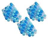 Knorrtoys 56773 56773-Bälleset Ø6 cm-300 Balls/Soft Blue/Blue/White Spielball