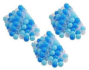 Knorrtoys 56773Pelotas Juego 6cm de diámetro-300Balls/Soft Blue/White Parte Ball
