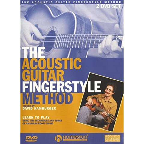 David Hamburger: The Acoustic Guitar Fingerstyle Method. For Chitarra