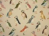 1m Papageientaucher Vögel Treibholz Küste Nautisch Meer