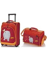 Travelite - Kindertrolly + Reisetasche - Nilpferd - Youngster - 43x31x18