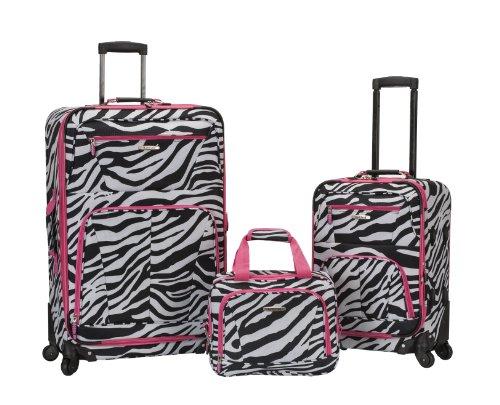 Rockland, Handgepäck pink zebra Einheitsgröße (Rockland Zebra)