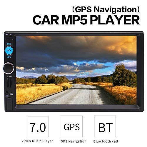 Stereo Audio Radio Video MP3 MP5 Player Bluetooth FM-Stereoradio MP5 Touch Screen Unterstützung U-Disk/AUX/Bluetooth/Karten Wiedergabe mit drahtloser Fernbedienung ()