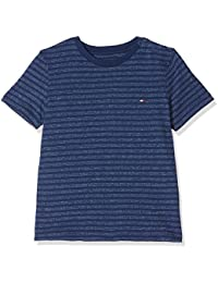 Tommy Hilfiger Boy's Ame Feeder Stripe CN Tee S/S T-Shirt