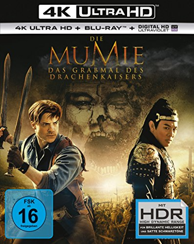 Die Mumie: Das Grabmal des Drachenkaisers - Ultra HD Blu-ray [4k + Blu-ray Disc]