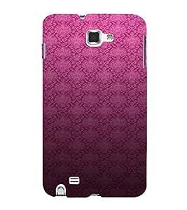 PrintVisa Royal Pattern 3D Hard Polycarbonate Designer Back Case Cover for Samsung Galaxy Note 1