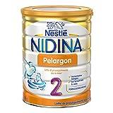 Nestlé Nidina Pelargon 2 da 6 Mesi Latte di Proseguimento in Polvere - Latta 800 g