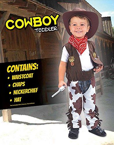 Imagen de disfraz infantil de vaquero. 3 años alternativa