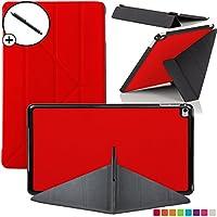 Forefront Cases® Nueva Origami Funda Case Cover Protectora Plegable para Apple iPad Air 2 / 2ª Generación A1566 – Ultra delgado Ligero con protección completa del dispositivo + Lápiz óptico
