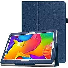 Fintie Funda para BEISTA K107 Tablet de 10.1 Pulgadas / YUNTAB K107 Tablet 10.1 - Slim Fit Folio Funda Carcasa Case con Stand Función para BEISTA Tablet de 10.1 Pulgadas, YUNTAB K107 Tablet 10.1, Artizlee ATL-21plus / ATL-21T / ATL-21X / ATL-31, ibowin P130 / M130 10.1 inch, Lnmbbs 3G/WIFI Tablet 10, XIDO Z120, Excelvan K107 10.1 Inch, Sky Castle 10.1, Azul Oscuro