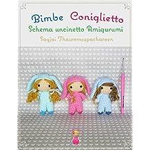 Bimbe Coniglietto Schema uncinetto Amigurumi