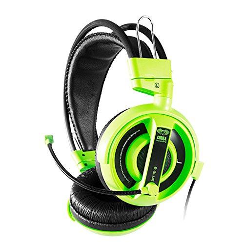 Eblue Cobra HS Gaming Kopfhörer Headsets EHS013GR Grün