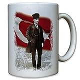 Mustafa Kemal Atatürk türkischer Staatsmann Türkei Türkiye - Tasse #11372