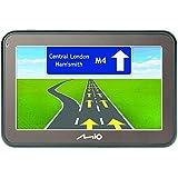 """MIO Spirit 5400 LM Navigationsgerät mit 4.3"""" Touchscreen, Lebenslangen Kartenupdates, Spurführung, Ansage von Straßennamen, 3D Junction Views, Parkhilfe uvm. - Gesamt EU"""