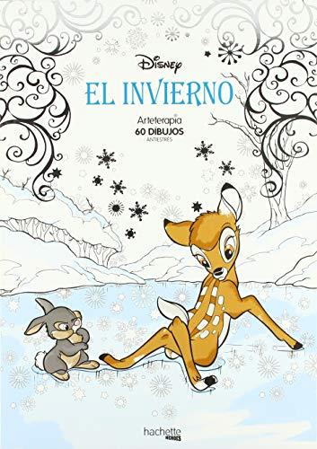 Arteterapia. El invierno Disney (Hachette Heroes - Disney - Arteterapia)