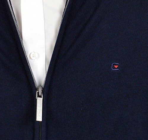 Casa moda 4250–135 veste en tricot bleu marine Bleu - Bleu foncé