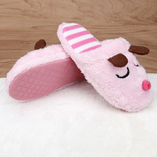Per Donna,Amlaiworld Indoor & Outdoor Pantofole antiscivolo Rosa