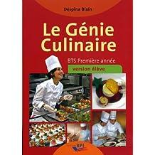 Le Génie Culinaire - Bts Première Annee - Eleve