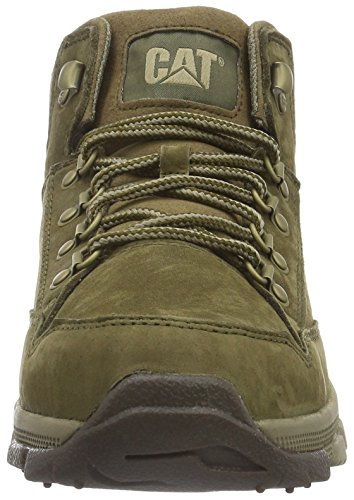 Caterpillar Interact Mid, Bottes homme Marron (Beech)
